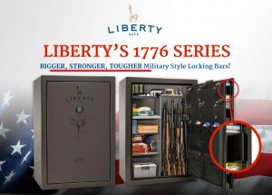 1776 Series Liberty Safe with Locking Bars