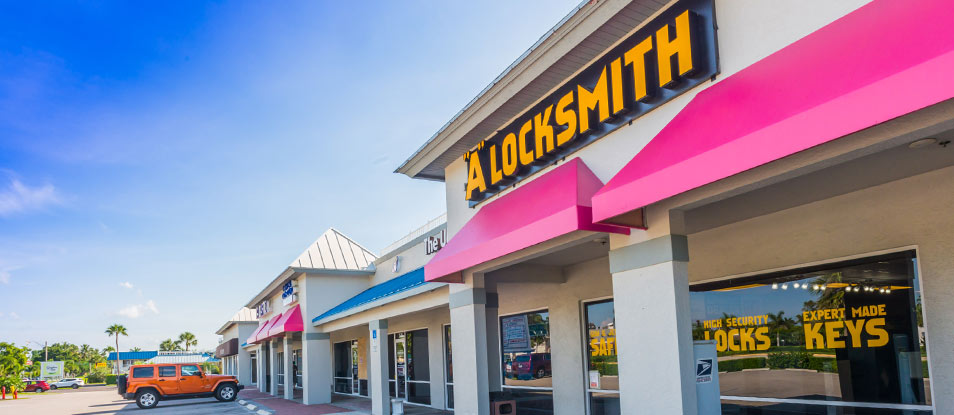 A Locksmith City of Naples Showroom Location - A Locksmith Naples
