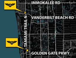 A Locksmith Naples - Naples Florida Map