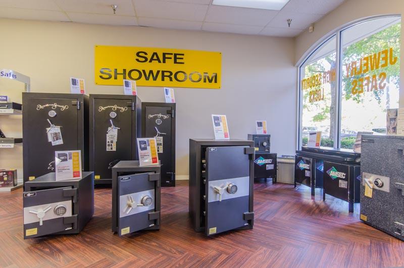 Naples Gun Safe Showroom