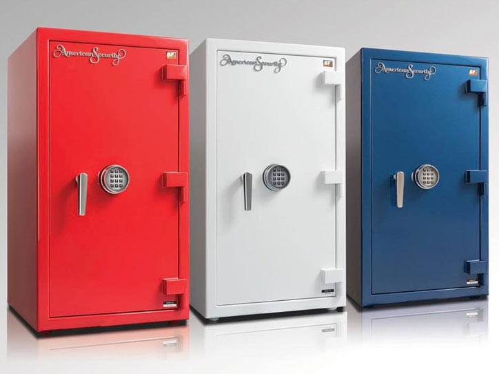 Three Colors Extra Large Premiere Custom Jewelry Safes Sales and Service in Naples, Florida - A Locksmith Naples